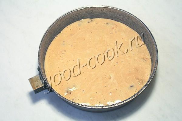 перевернутый пирог с кабачками