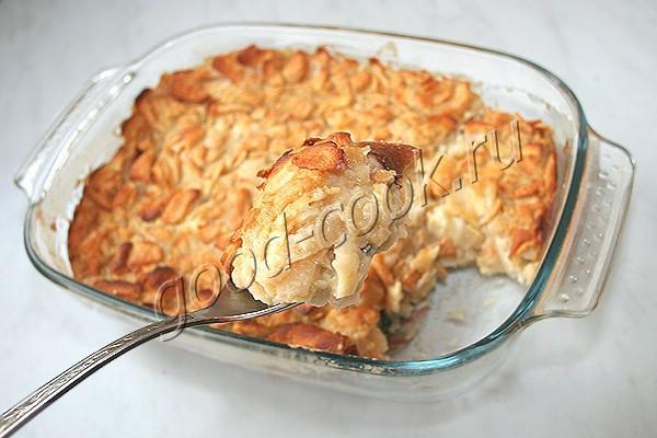 яблочный пирог-невидимка