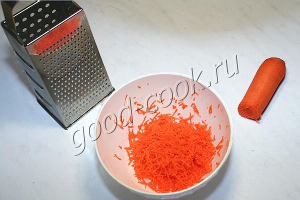 морковно-овсяное печенье