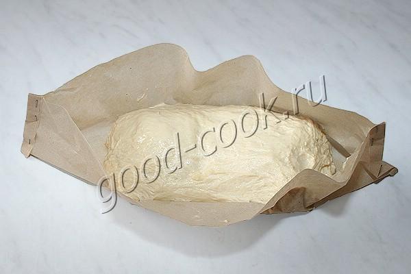 хлеб, выпеченный в рукаве