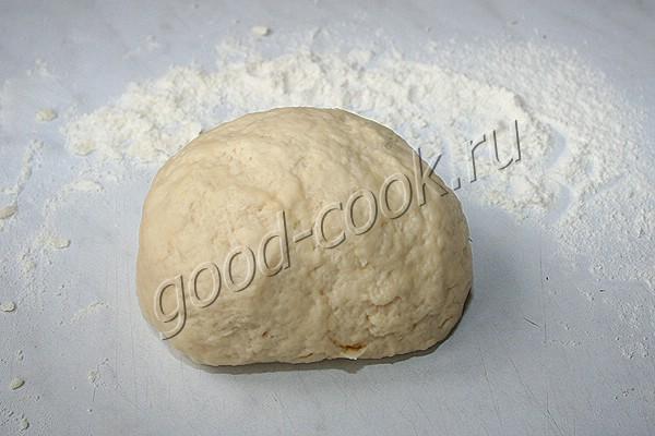 сметанный пирог с луком