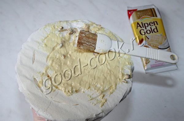 "торт-безе ""Ветерок"""