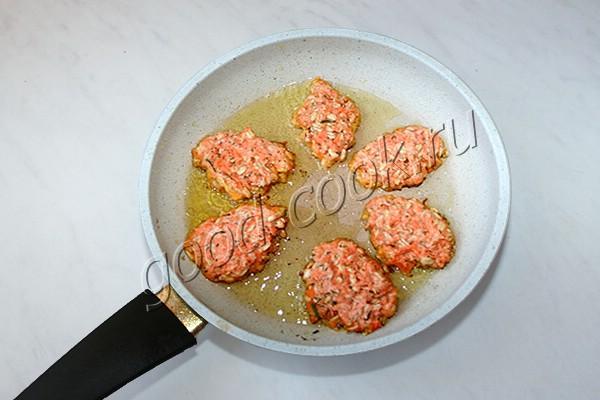 постные морковно-овсяные оладьи (соленые)