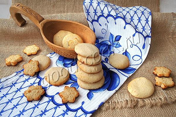 рисово-кокосовое печенье