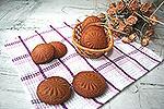 постное медово-кофейное печенье