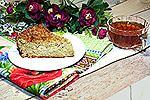 овсяный пирог с капустой