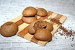 постное кофейно-банановое печенье
