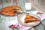 пирог с консервированным тунцом и овощами