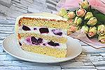 торт Смородиновый сюрприз
