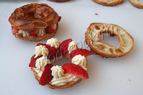 """пирожные """"Заварные кольца"""""""