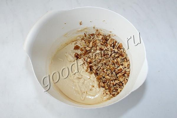 ореховый торт с карамелью