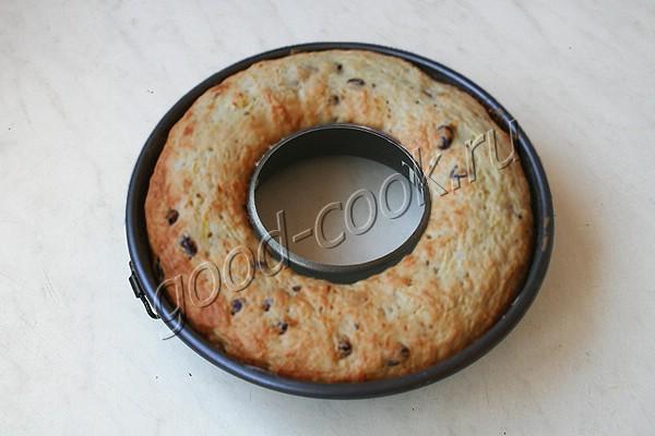 кабачковый кекс с изюмом