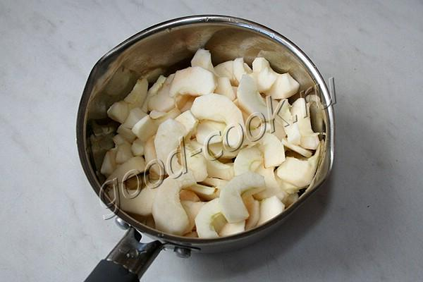 рисовый хлеб на мёде и яблоках