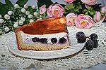 французский виноградный пирог