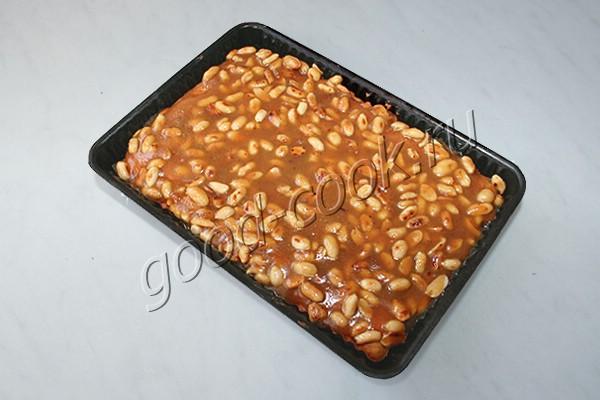 арахисовый пирог