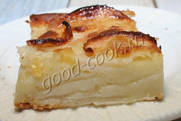 французский яблочный пирог (клафути)