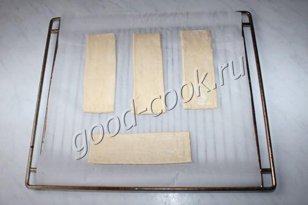 слоёные пирожные с кремом