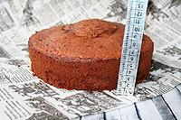 Масляно-сметанный бисквит на шоколаде