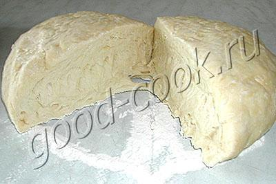 Рецепт слоеного тесто на минералке