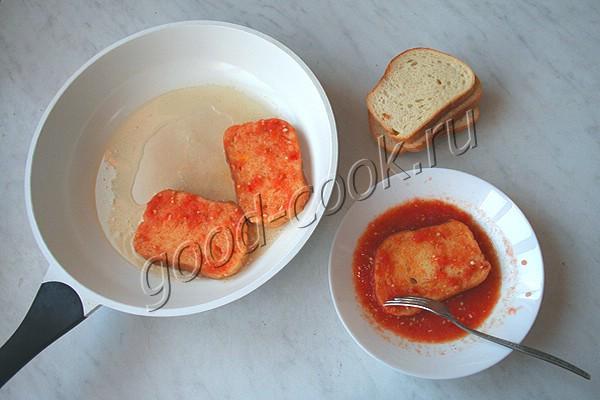 томатные гренки