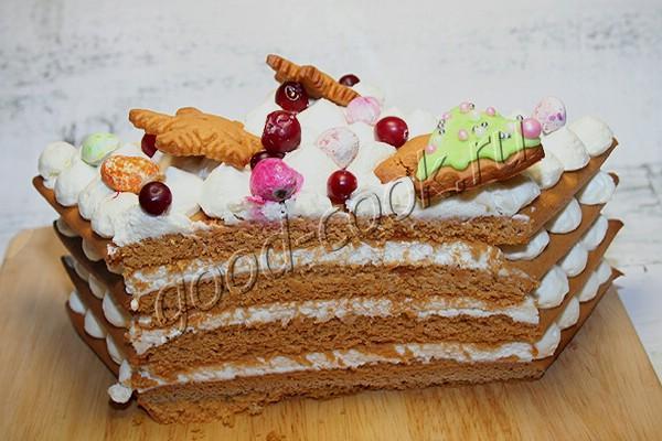"""пряничный торт """"Елочка"""""""