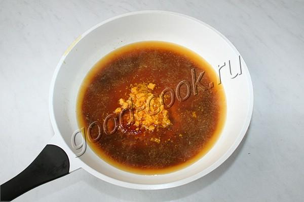 апельсиново-карамельный крем на сливочном сыре