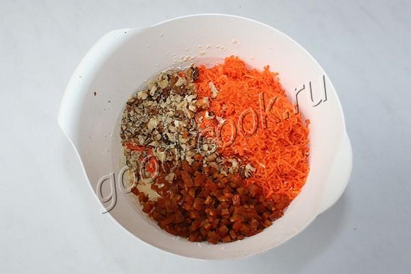 морковный торт с апельсиново-карамельным кремом