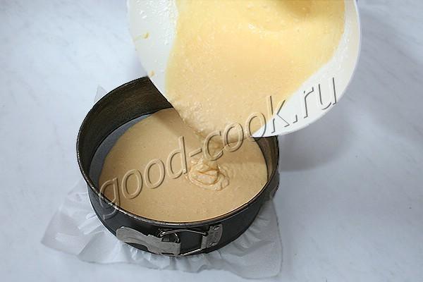 кокосовый бисквит на крахмале