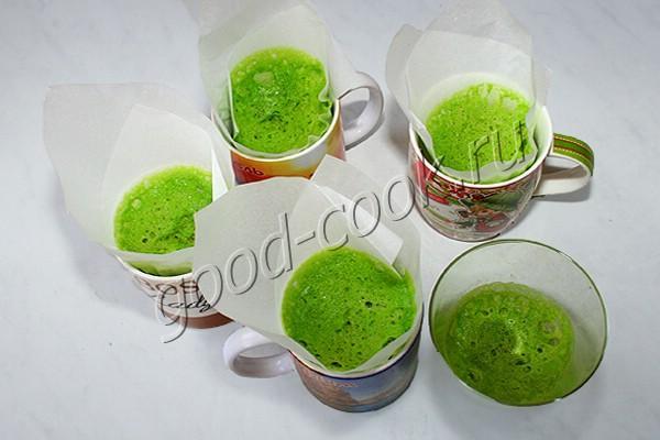 бисквитный мох (для декора)