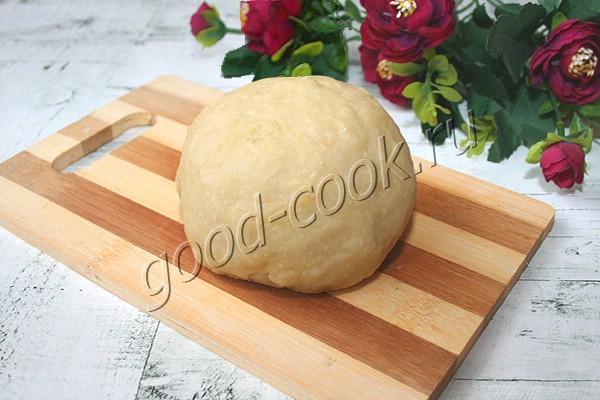 постное бездрожжевое тесто на растительном масле