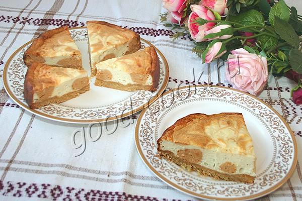"""Творожный пирог """"Карамельные острова"""""""
