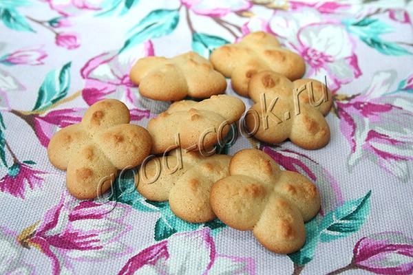 медово-молочное печенье