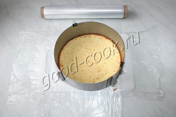 муссовый торт с мармеладом
