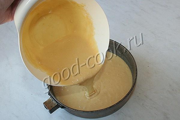 бисквит на сгущённом молоке