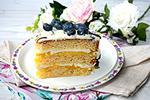 торт Лимонные полоски (Lemon strips)