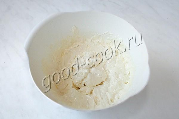 орехово-кофейный торт