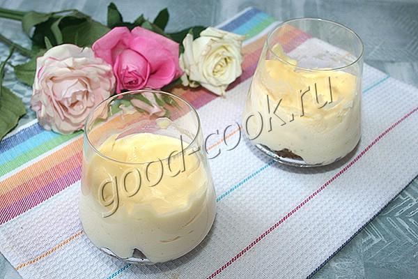 чизкейк с пряниками (в стакане)