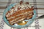 торт медово-ореховый