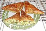 треугольники с плавленым сыром