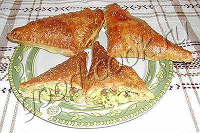 треугольники с плавленным сыром