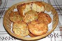 кексы с плавленным сыром
