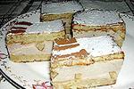 торт йогуртово-банановый