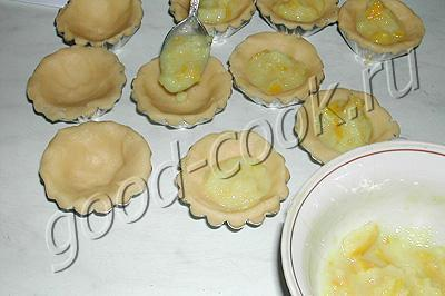 кексы с лимонной начинкой