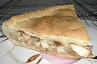 пирог с куриными грудками