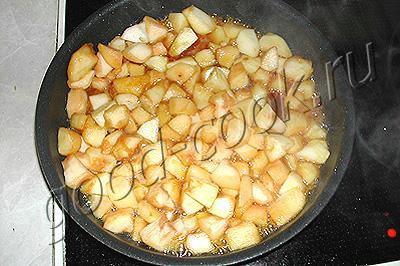 яблочно-творожный батон
