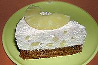 торт творожно-ананасовый