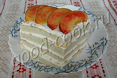 творожный тортик к завтраку