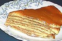 блинчатый пирог с ирисками