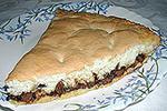 двойной пирог с шоколадом