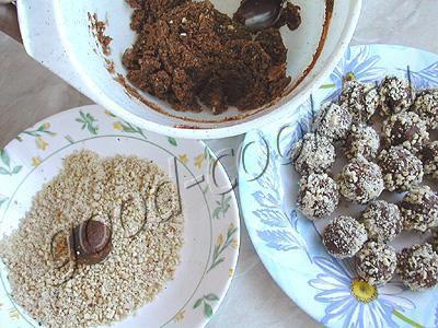 печенье Шоколадные бомбочки